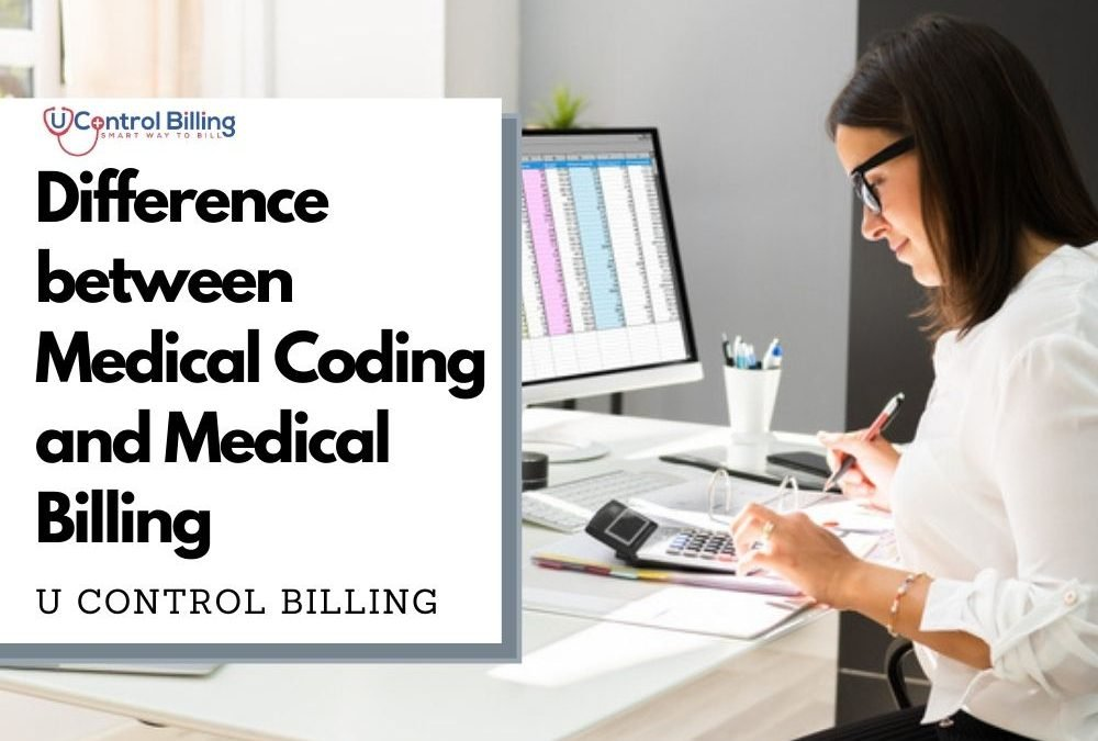 Difference between Medical Coding and Medical Billing